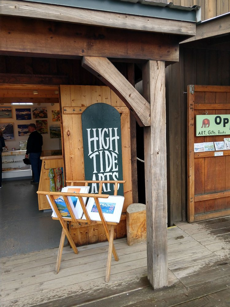 High Tide Arts: 4306 Homer Spit Rd, Homer, AK