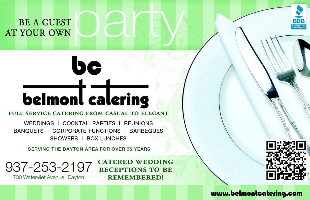 Belmont Catering: 730 Watervliet Ave, Dayton, OH