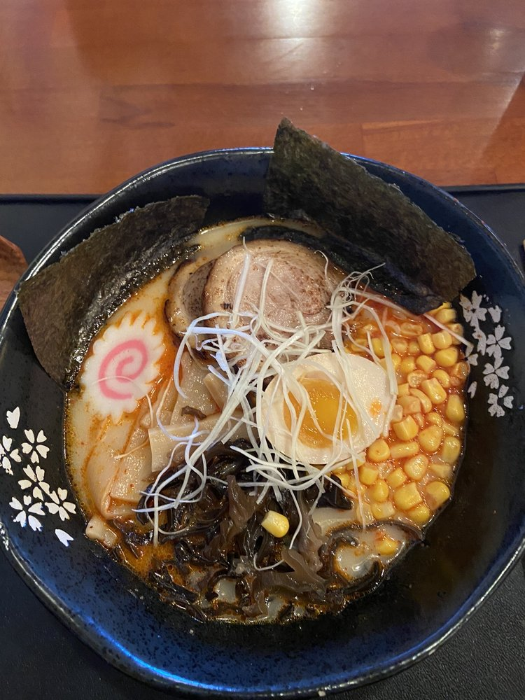Food from Sakuratani Ramen & Izakaya