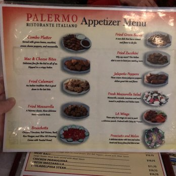 Palermo italian restaurant order food online 646 photos 1283 photo of palermo italian restaurant los angeles ca united states appetizer menu sciox Gallery
