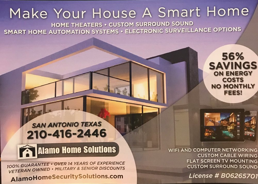 alamo home solutions - 12 photos - security systems - san antonio, tx -  phone number - yelp