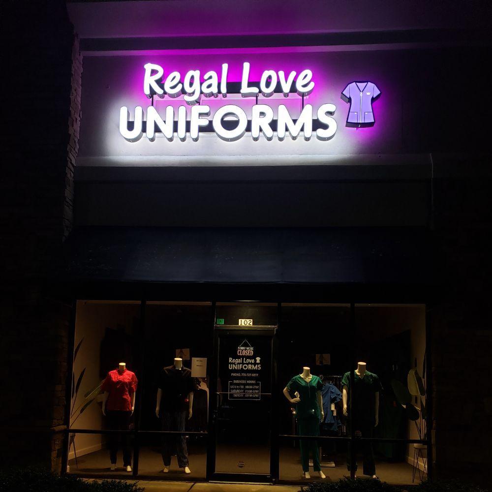 Regal Love Uniforms: 8075 Mall Pkwy, Stonecrest, GA