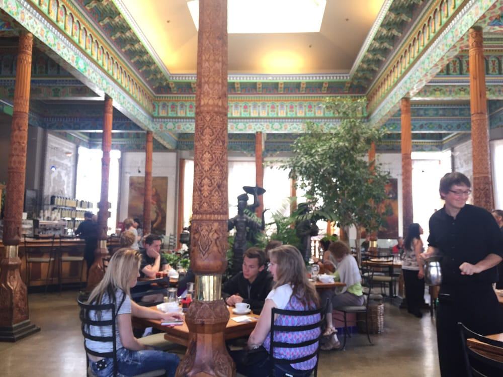 Photo of Boulder Dushanbe Teahouse - Boulder, CO, United States. Seats & Tables