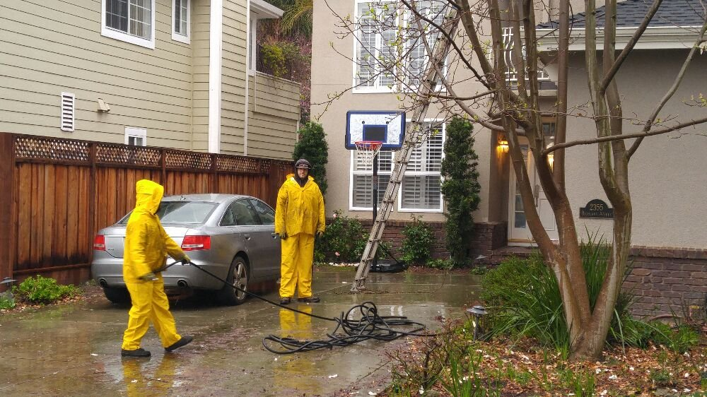 We Clean Gutters In The Rain Yelp