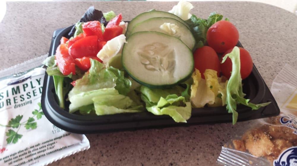 99 Cent Value Menu Garden Salad Nice Colors Not That Iceburg