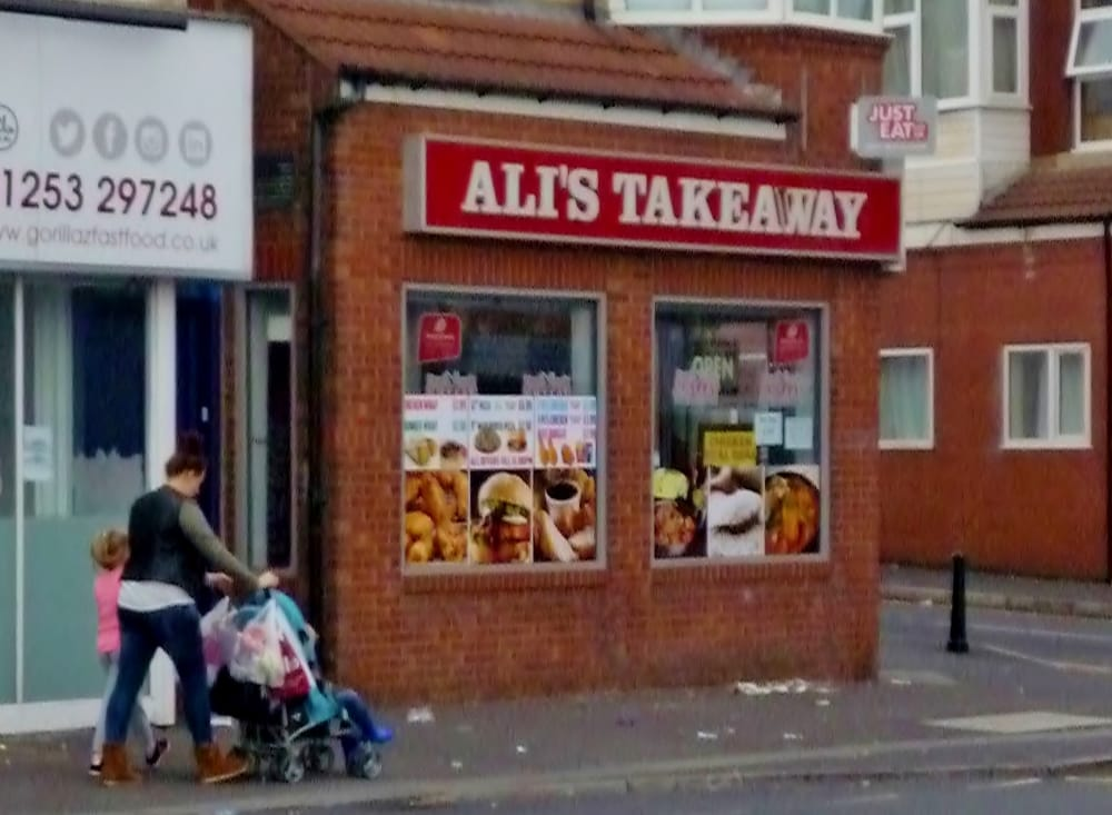 Ali S Fast Food Blackpool