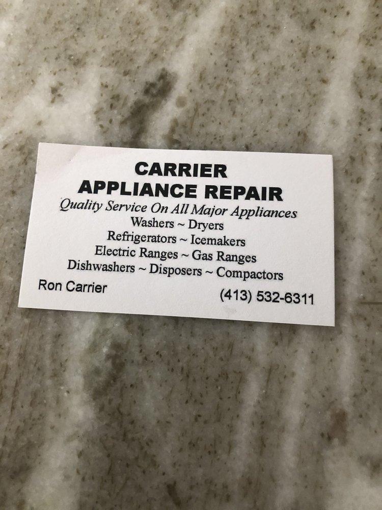 Carrier Appliance Repair: Chicopee, MA