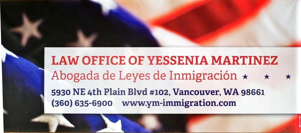 Law Office of Yessenia Martinez | 5930 NE 4th Plain Blvd, Vancouver, WA, 98661 | +1 (360) 635-6900