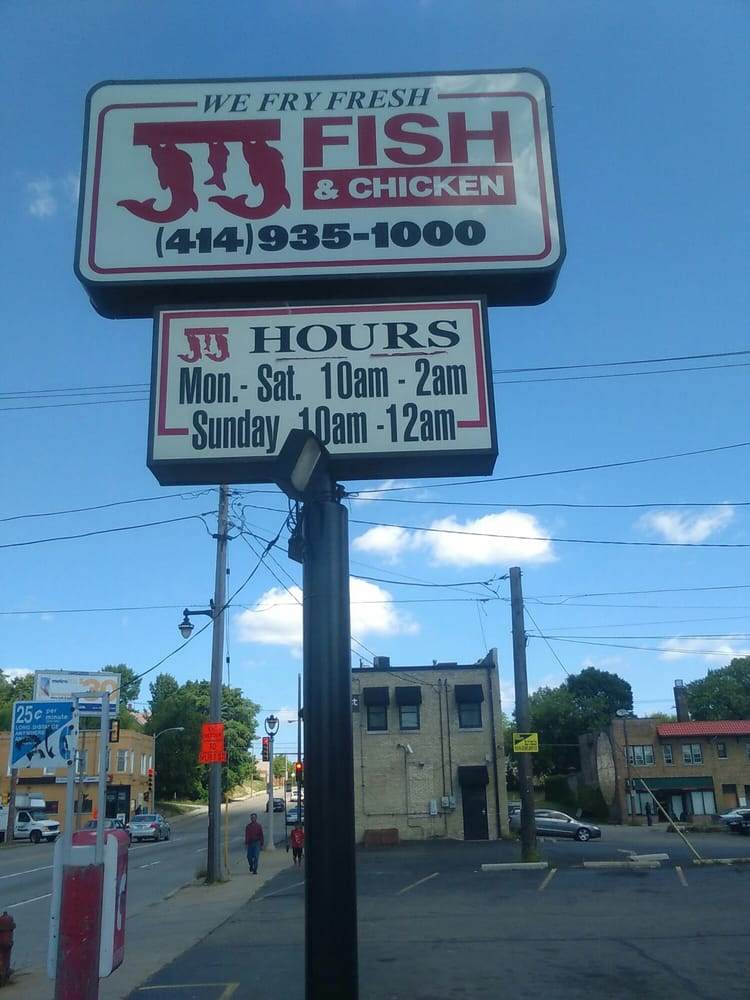 Jj fish chicken 13 reviews chicken wings 1334 n for Jj fish and chicken near me