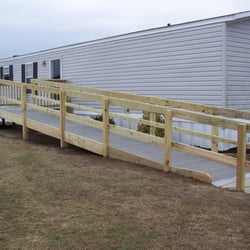 Ordinaire Photo Of Delmarva Disability   Sharptown, MD, United States. Wood Ramp With  Composite