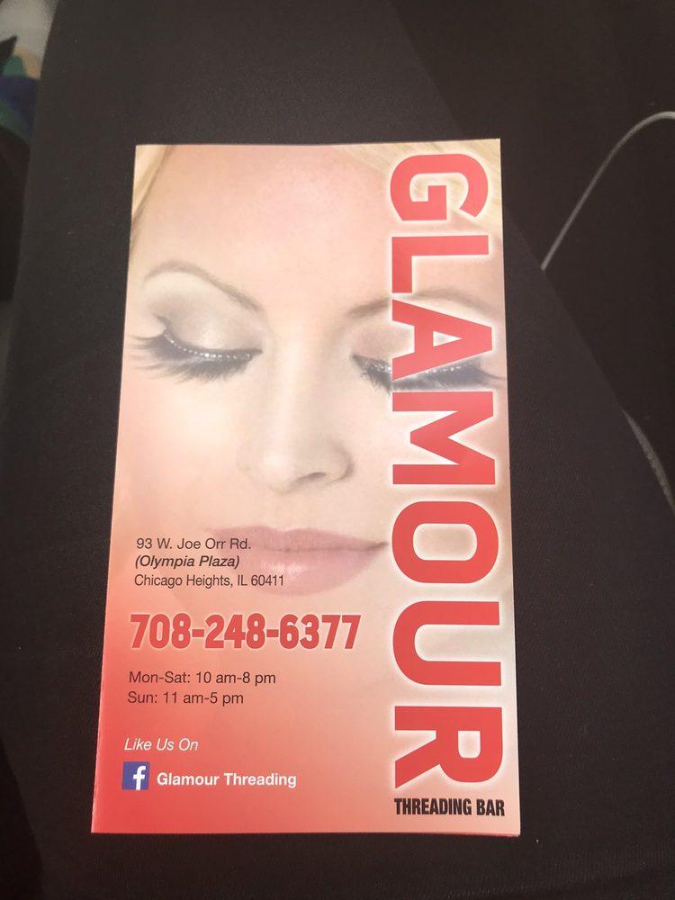 Glamour Threading Bar: 93 W Joe Orr Rd, Chicago Heights, IL