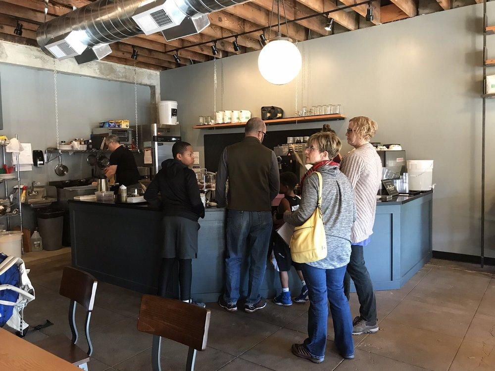 The Stacks Coffeehouse: 1831 N Killingsworth St, Portland, OR