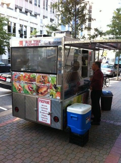 New York Express Food Cart: 2300 Clarendon Blvd, Arlington, VA