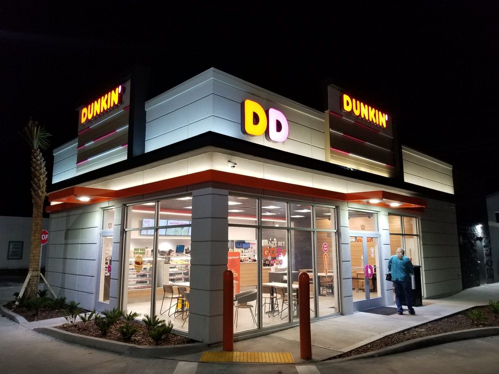 Dunkin: 101 W Walker Dr, Keystone Heights, FL