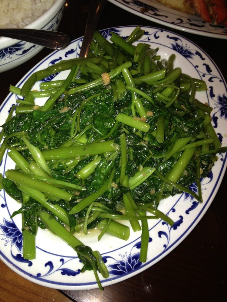 Rau Muong Xao Toi Watercress Saut Ed W Garlic Yelp