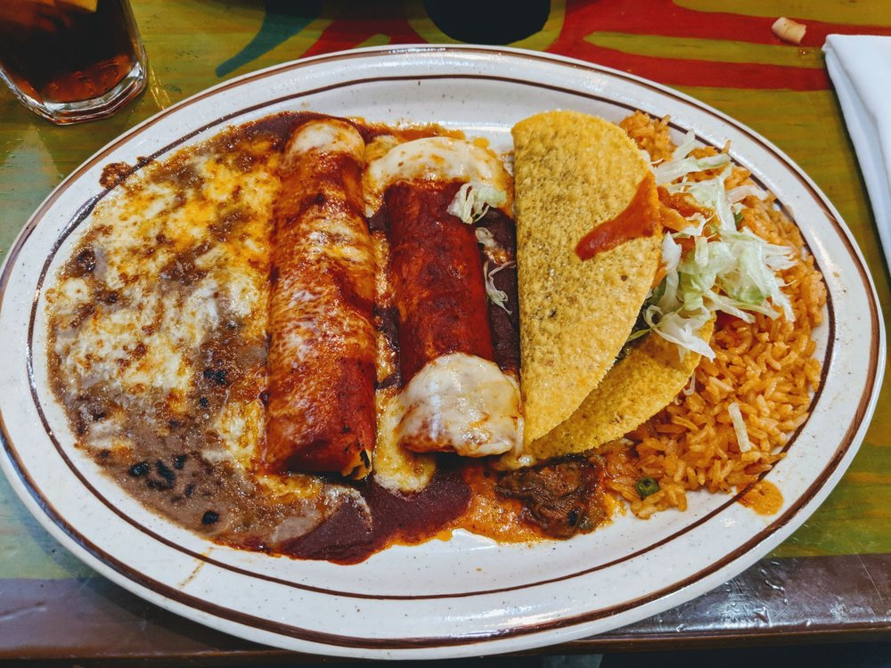 Food from El Mexicano