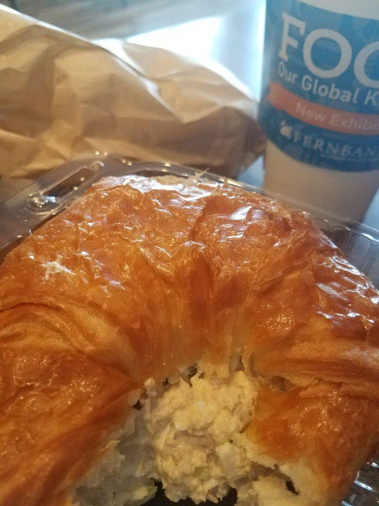 Tuna On Croissant Breve Cap And Lemon Pound Cake To Go Maybe I Ll