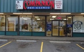 Companion Pet Clinic of Forest Grove | 3034 Pacific Ave, Forest Grove, OR, 97116 | +1 (503) 357-3638