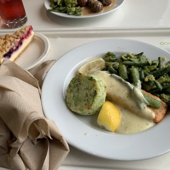 Photo Of IKEA Restaurant   West Sacramento, CA, United States. Salmon Plate  With