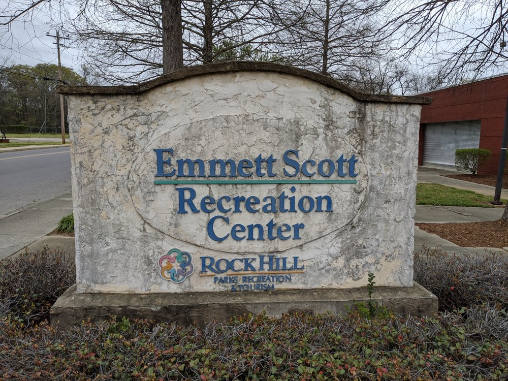 Emmett Scott Center: 801 Crawford Rd, Rock Hill, SC