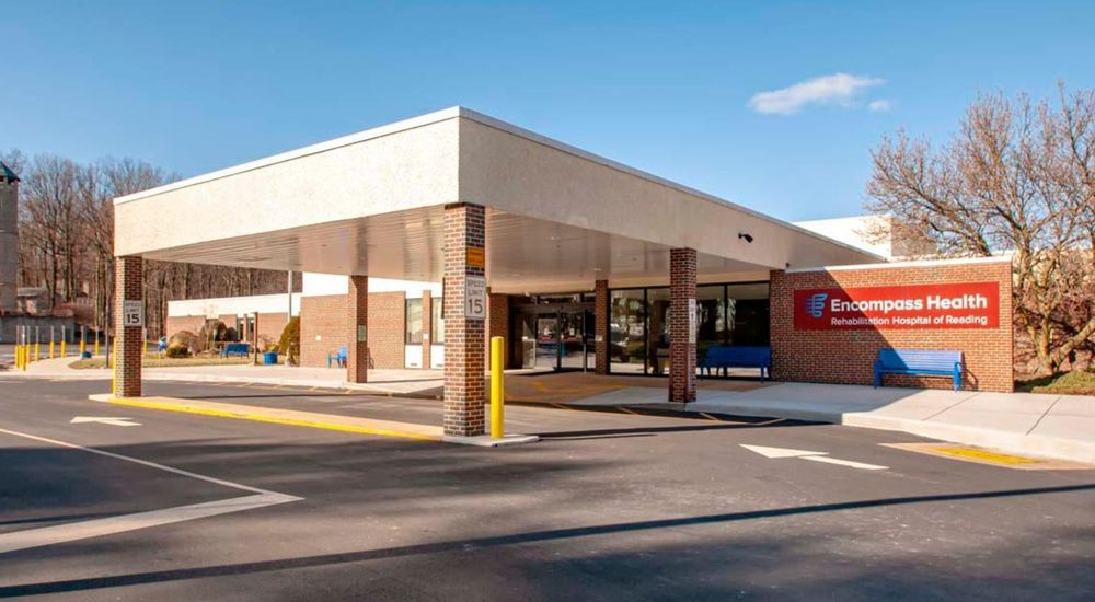 Encompass Health Rehabilitation Hospital of Reading: 1623 Morgantown Rd, Reading, PA