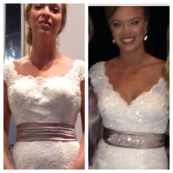 The wedding dress seamstress