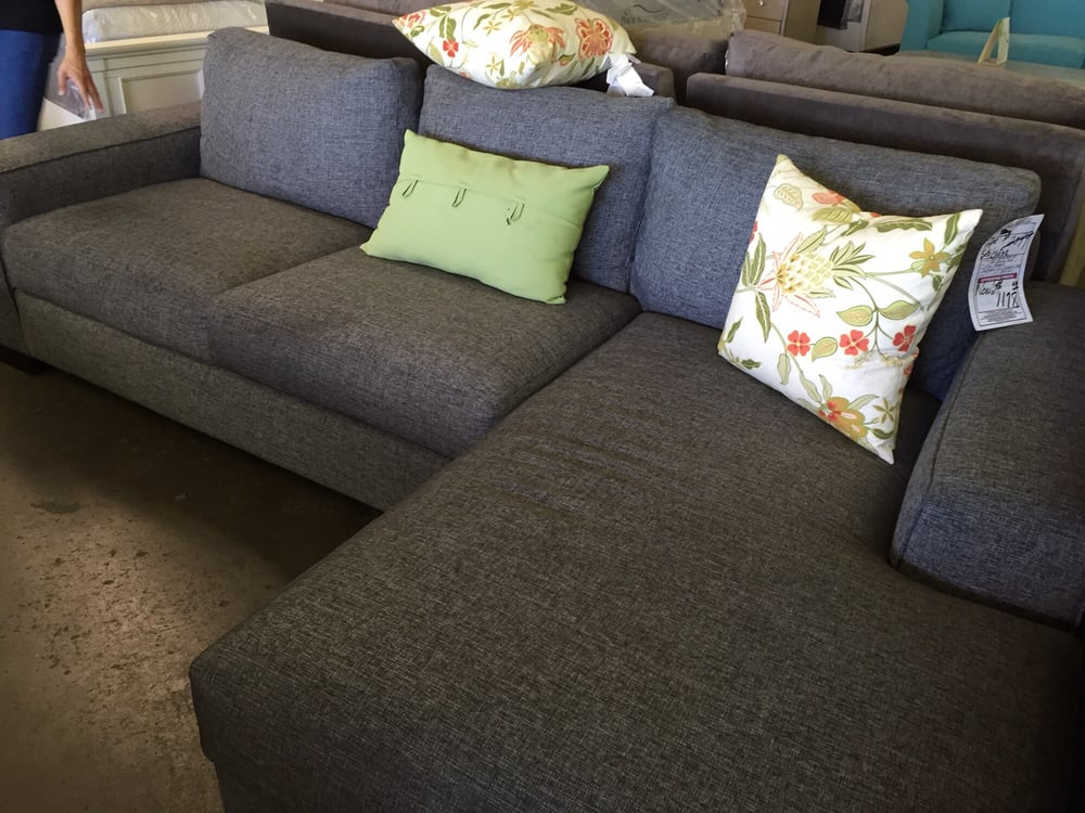 Photo Of Los Angeles Furniture Ca United States Charcoal Sectional