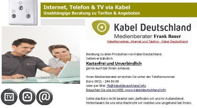 Kabel Deutschland Serviceburo Professional Services Uhlandstr