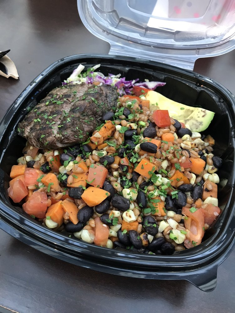 Quinoa steak bowl yelp for Farm and craft scottsdale