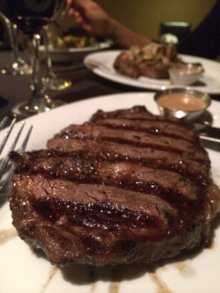 Auto Service Near Me >> 16 oz Ribeye medium rare! really nicely done- prime cut! - Yelp