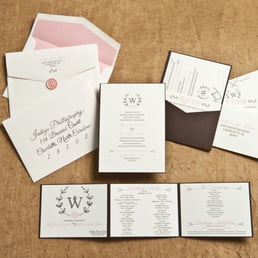 Photo Of Elle Dee Designs   Charlotte, NC, United States. Invitation Suite