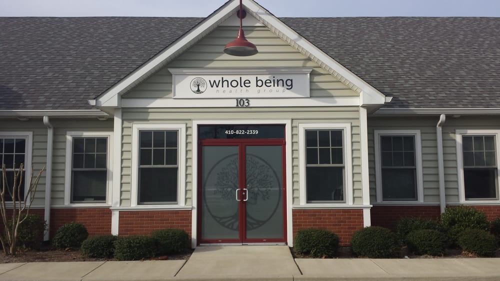 Whole Being Health Group: 8737 Brooks Dr, Easton, MD