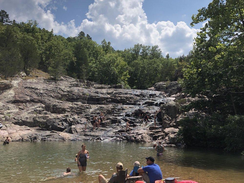 Rocky Falls: Winona, MO