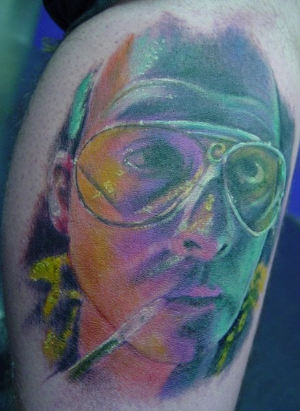 Fear And Loathing In Las Vegas Tattoo By Chuck Kail Yelp