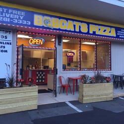 Photo Of Falcon Pizza Hamden Ct United States Outside Bobcats