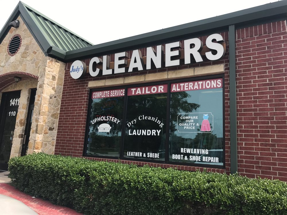 Judy's Dry Cleaners & Tailor: 1411 E Sandy Lake Rd, Coppell, TX