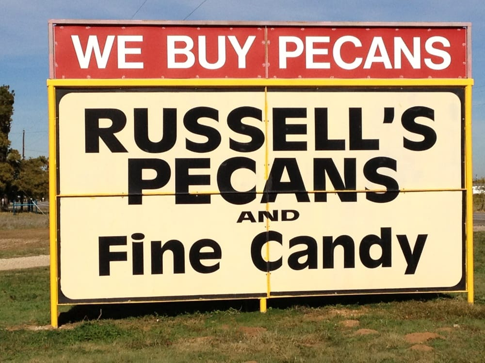 Russell's Pecan Orch Shelling Plant & Tree Nursery: 12633 Gholson Rd, Waco, TX