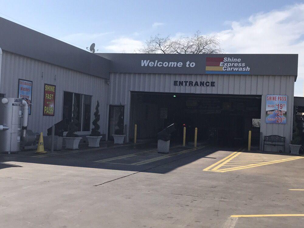 Shine Express Car Wash: 316 N Collins St, Arlington, TX
