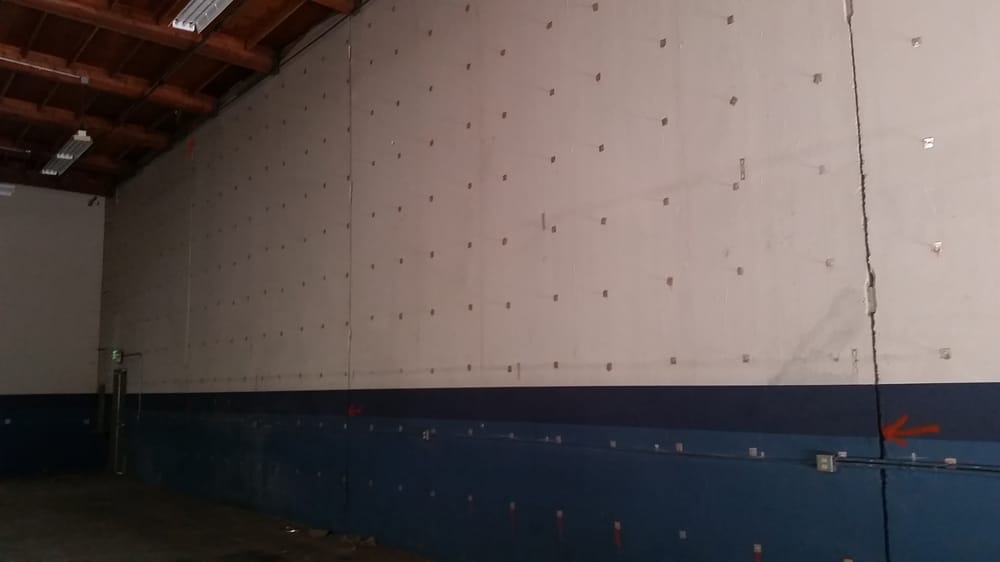 Auto Service Near Me >> Stick pins installed so we can install wall insulation for concrete tilt up commercial building ...