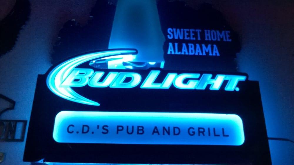 CD's Pub & Grill: 107 Arlington Dr, Madison, AL