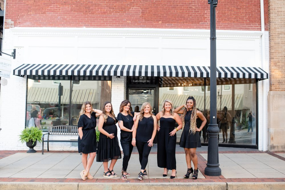 Hair Society of Newnan: 5 Lagrange St, Newnan, GA