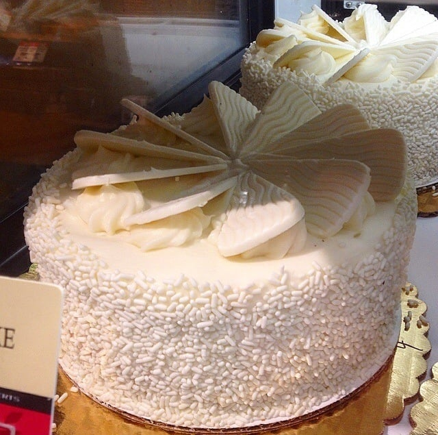 "This is called ""Sinfully White Cake"" I believe. I could be ..."