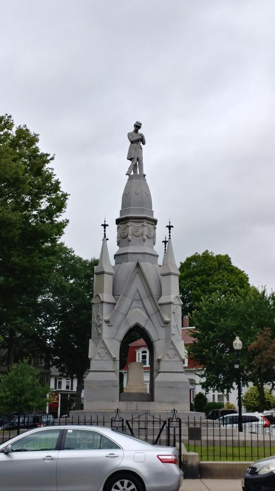 Soldiers Monument: Centre And South Sts, Jamaica Plain, MA