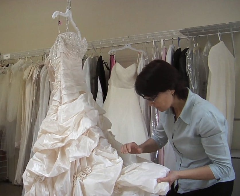 Wedding gowns carefully inspected - Yelp