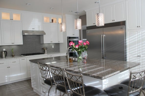 kitchen cabinets van nuys kitchen remodeling in calabasas with white cabinets 6435
