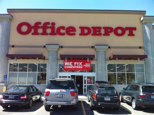 Office depot cerrado material de oficina 6972 park for Oficina depot