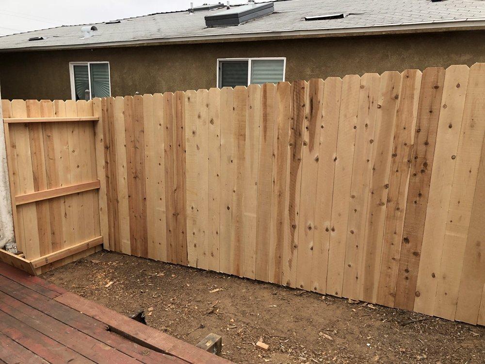 Larry's Fence: Chula Vista, CA