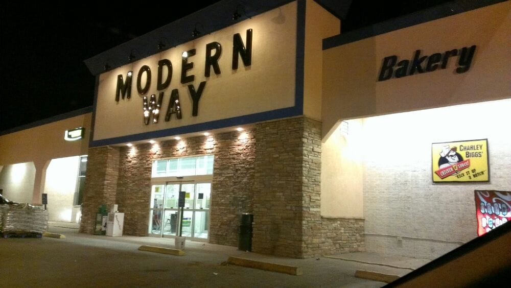 Modern Way Food Store: 1202 N Ave E, Haskell, TX