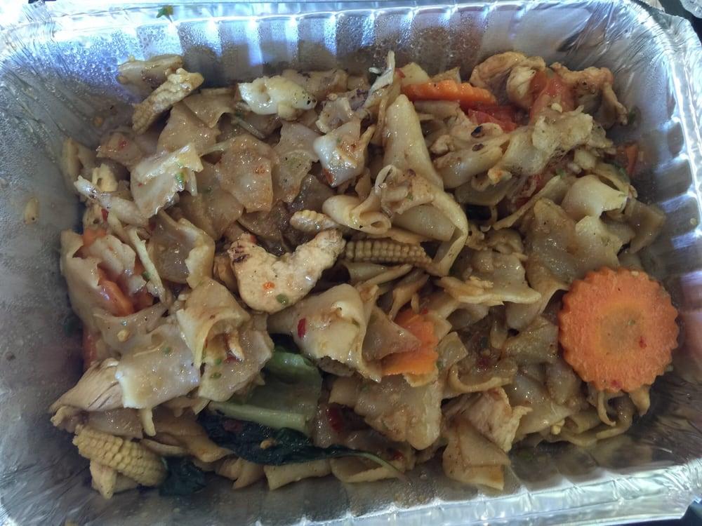 Pad ki mau yelp for At siam thai cuisine