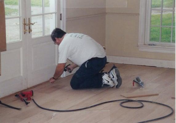 Photo Of Superior Floors   Leesburg, VA, United States. Steve Hard At Work